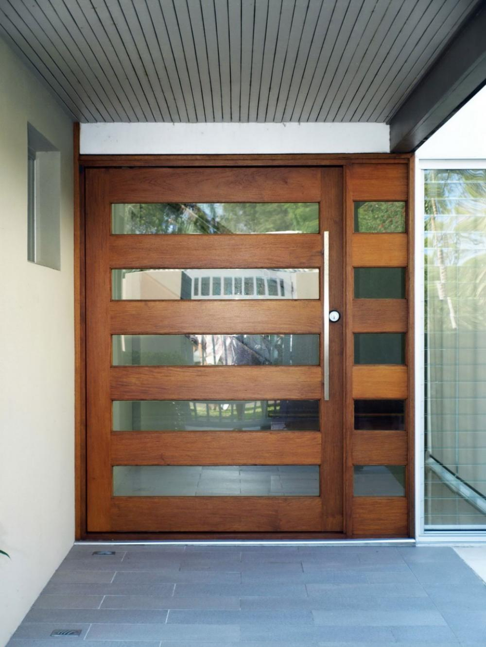 wooden front door designs for houses 3
