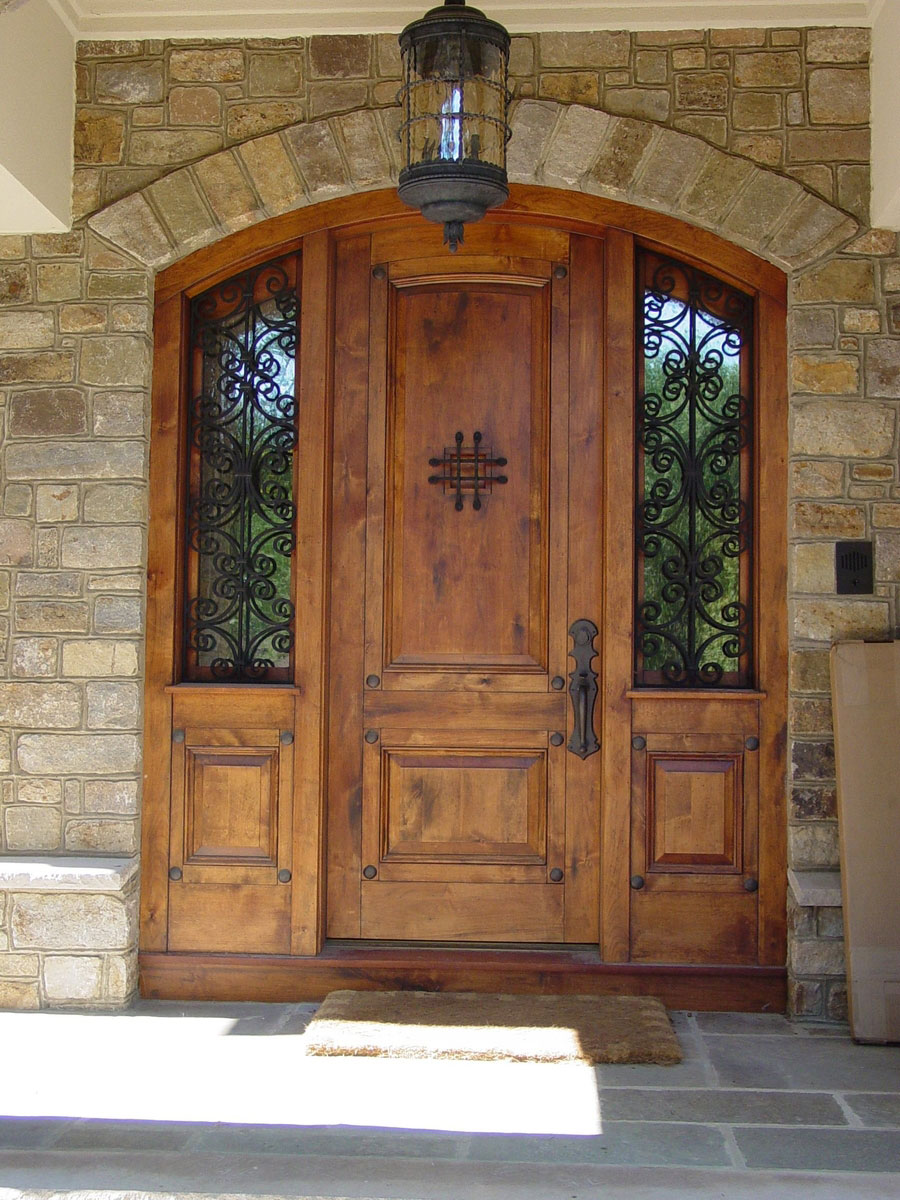 4 Wooden Front Door Designs for Houses